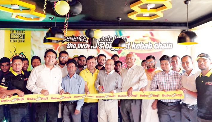 Baba Rafi opens  outlet at Bashabo