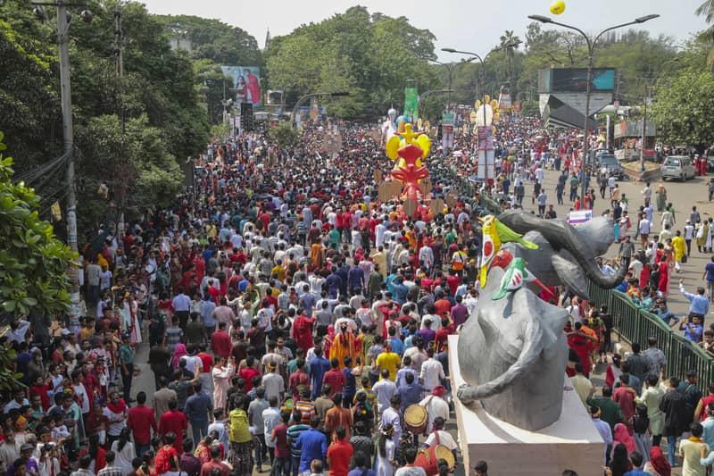 Pahela Baishakh celebrated