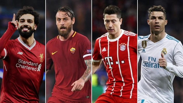 Bayern face Real Madrid, Liverpool play Roma in Champions League semis