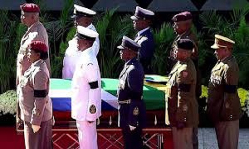 Winnie Mandela: Soweto send-off for anti-apartheid fighter