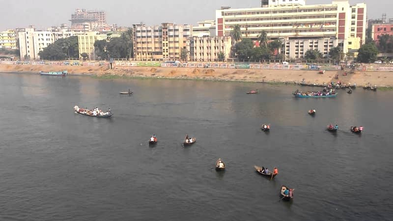 Man's body recovered from Buriganga