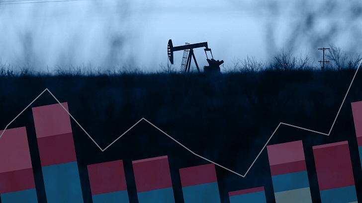 Oil prices slide after Syria air strikes