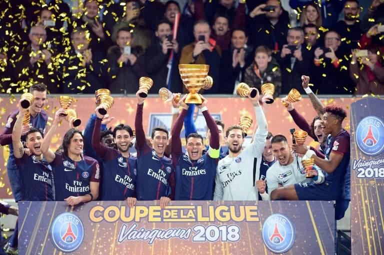 PSG crush Monaco 7-1 to reclaim French title