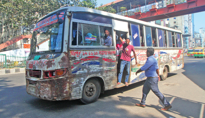 BRTA's drive against unfit vehicles underway