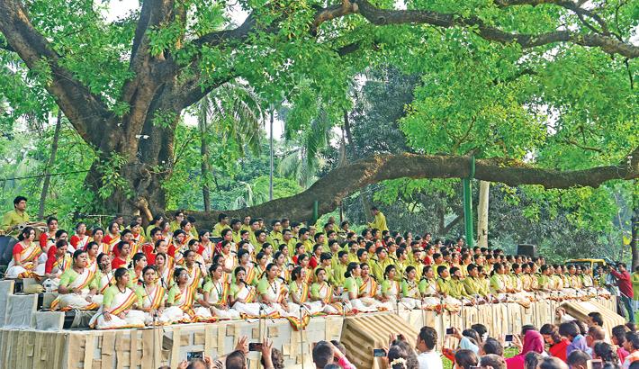 Cultural arena celebrates Pahela Baishakh