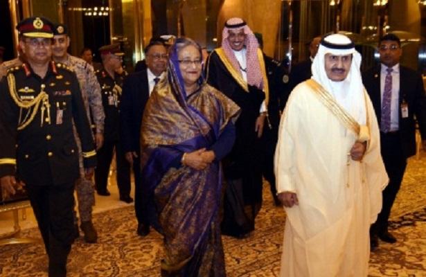 PM arrives in Dammam