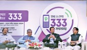 Public service helpline launched