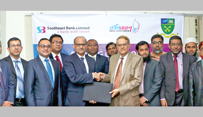 Southeast Bank inks deal with Asian varsity
