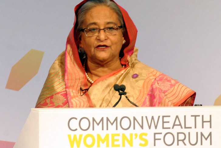 Prime Minister Hasina urges C'wealth leaders to work for global peace