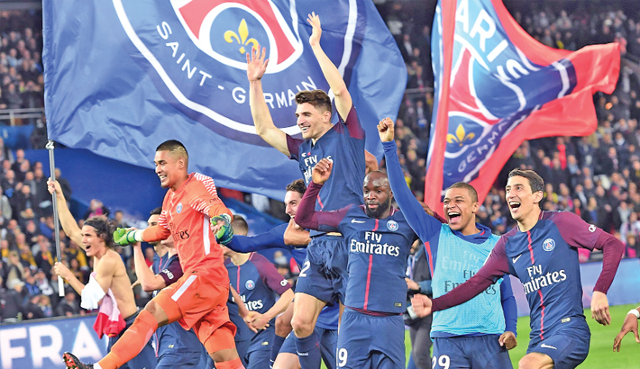 PSG crush Monaco to reclaim French title