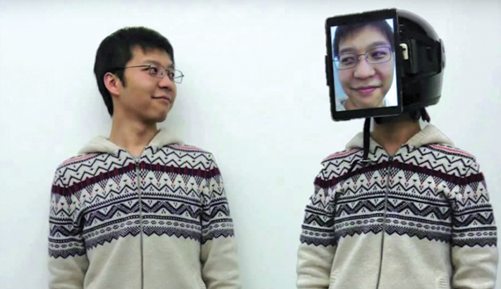 'Human Uber' uses another person's body