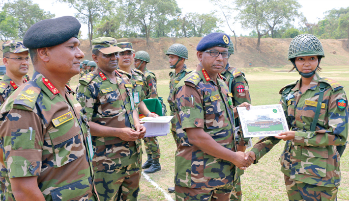 Bangladesh Army firing contest ends
