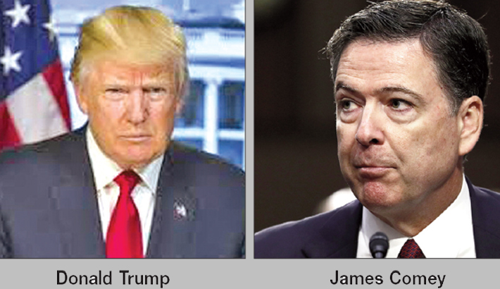 Trump 'morally unfit' for office, says ex-FBI chief Comey