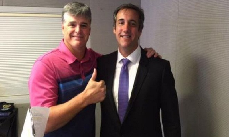 Sean Hannity unmasked as Trump lawyer's mystery client