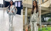 Manushi Chhillar weaving magic in pantsuit look