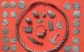 Boy unearths legendary Danish king's trove in Germany