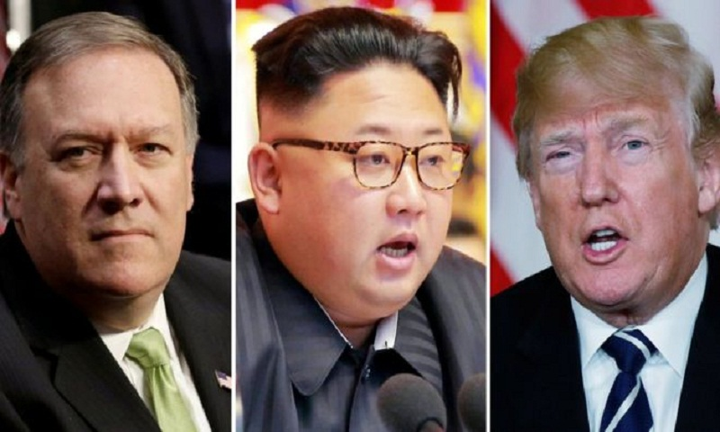 Mike Pompeo, CIA chief, met with North Korean leader Kim Jong-un – reports