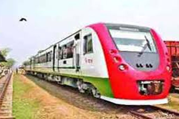 DEMU train becomes burden on railway