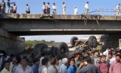 21 killed, 12 injured after vehicle carrying marriage party falls off a bridge in India
