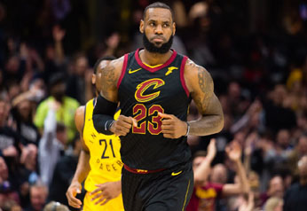 James' epic start carries Cavs past Pacers