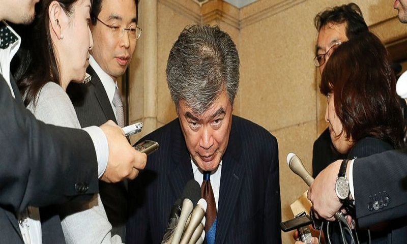 Japan's vice finance minister denies sexual misconduct allegation