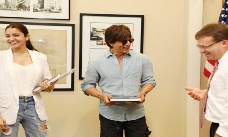 Shah Rukh Khan and Anushka Sharma to shoot at US Space and Rocket Center for 'Zero'