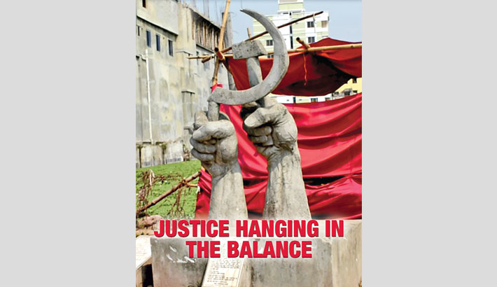 Justice Hanging In The Balance