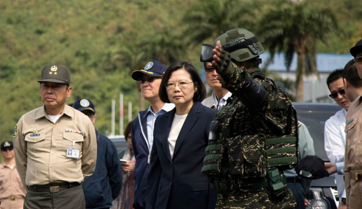 Taiwan calls Chinese military drills a  threat to region