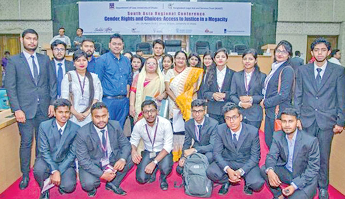 AIUB students attend regional confce at DU