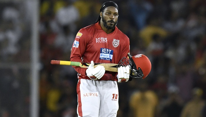 Gayle's blazing ton hands Sunrisers first loss