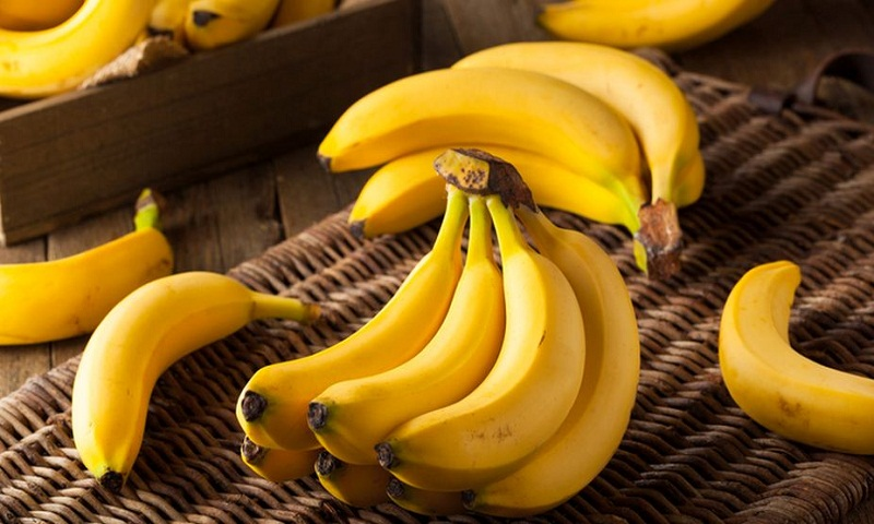 Health benefits with bananas