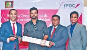 Mashrafe's Foundation, IPDC Finance ink three-year deal
