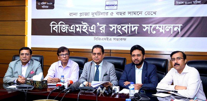 BGMEA critical of 'propaganda' against industry