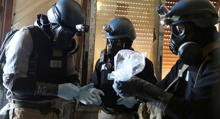What clues might chemical experts in Syria be looking for?