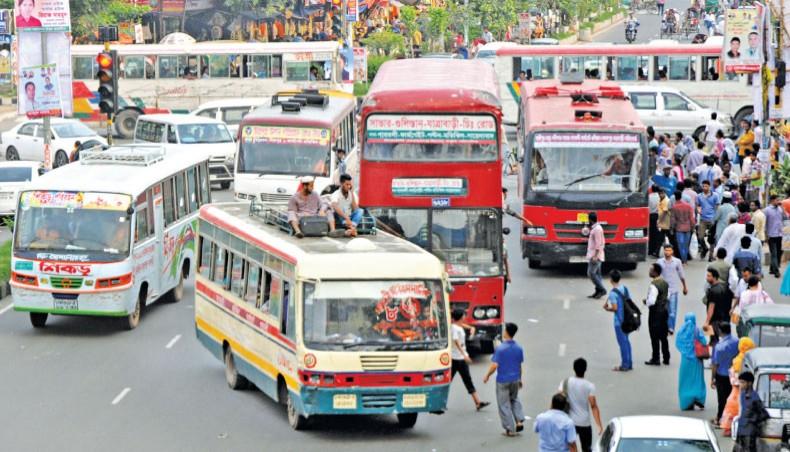 87 percent drivers of public transports in city violate traffic rules: Jatri Kalyan Samity