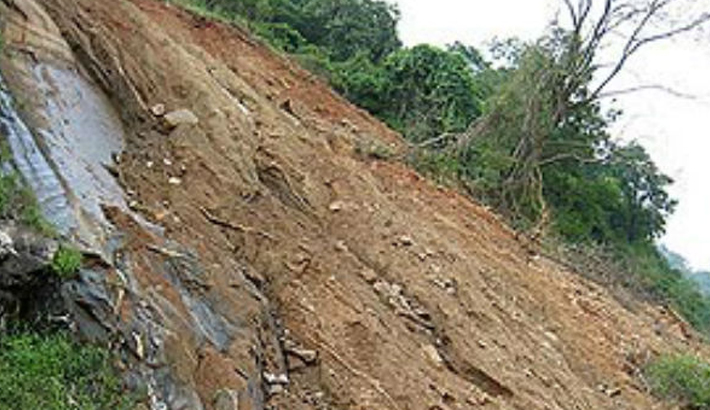 Thousands at risk of landslides in hill dists