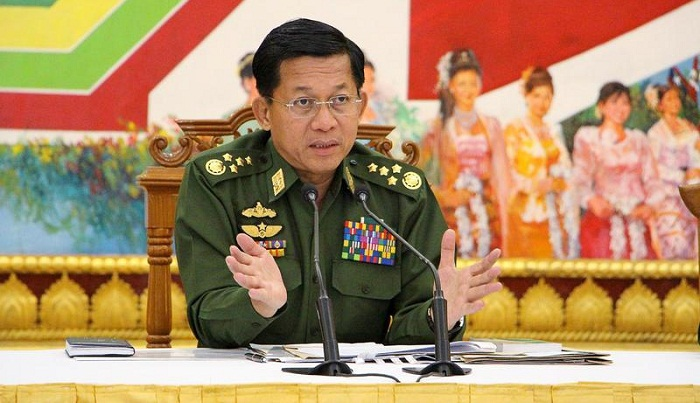 Myanmar army chief asks soldiers to obey law