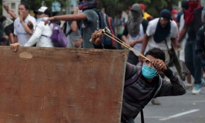 Ten killed in Nicaragua protests over pensions reform