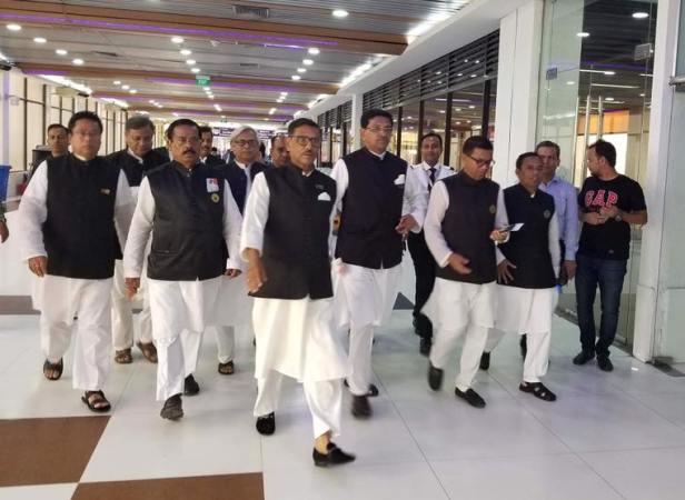 Awami League team leaves Dhaka for India