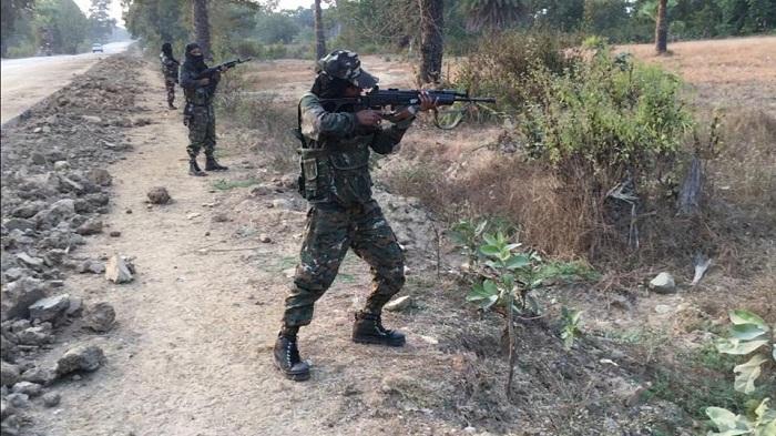 14 Maoist rebels killed in commando raid in India