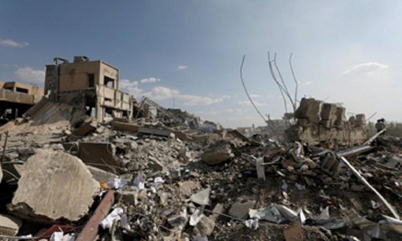 Dozens of bodies found in Raqa mass grave: official