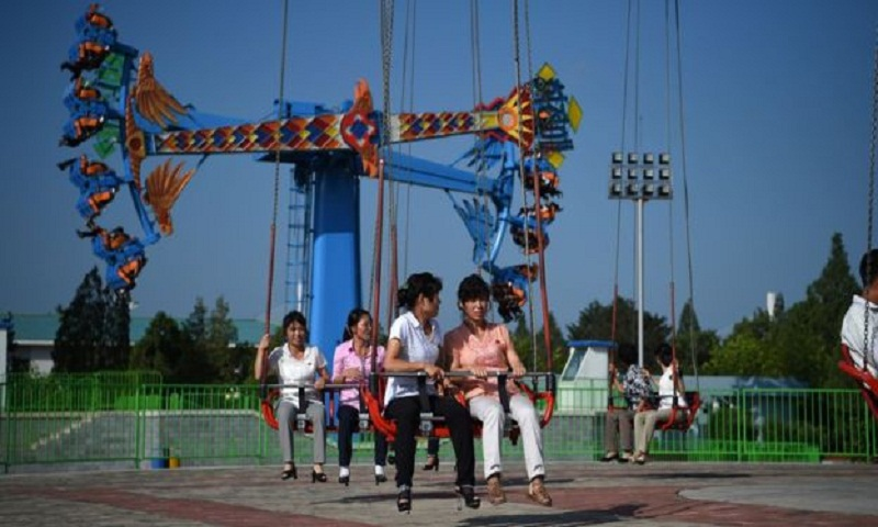 How leisure time is changing for North Korea's privileged