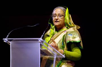 Tarique committing terrorist acts in London: PM Sheikh Hasina