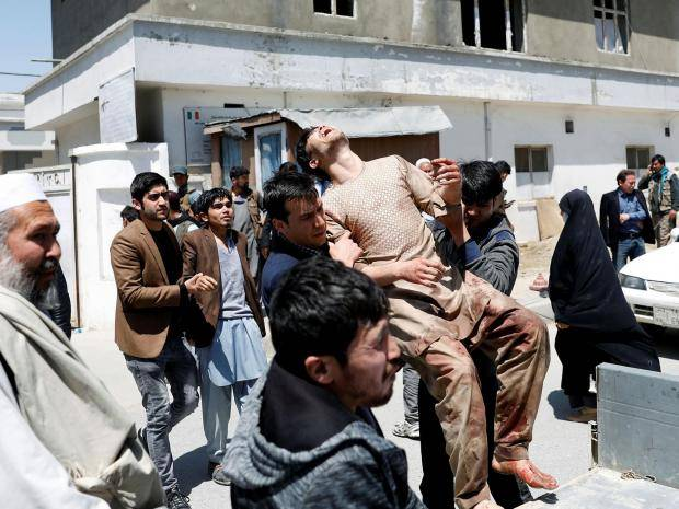 Death toll rises to 48 in Kabul bombing