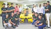 Team Red-X to participate in Shell Eco Marathon  France 2018