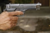 1 killed, six bullet-hit in city clash