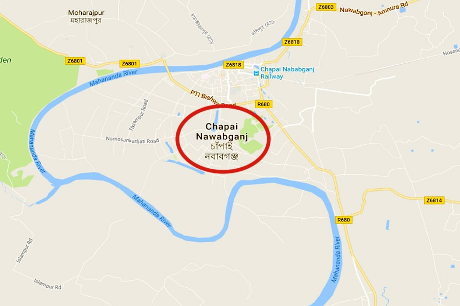 2 'robbers' killed in Chapainawabganj gunfight