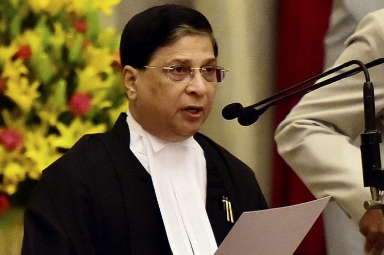 Impeachment notice against Indian Chief Justice Misra rejected