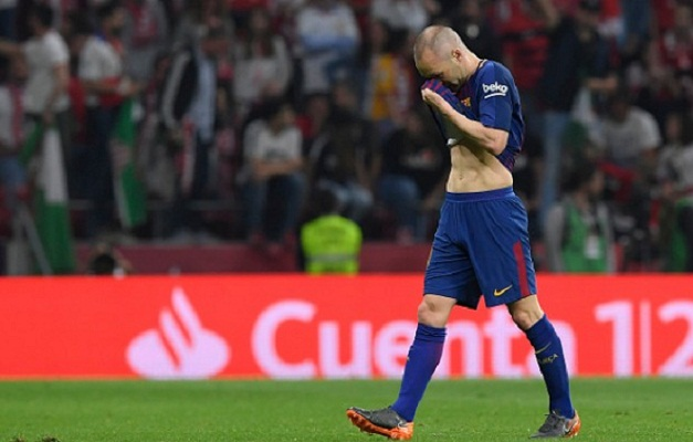 Iniesta explains tearful Copa del Rey triumph
