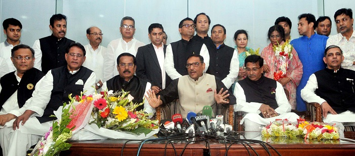 AL doesn't expect foreign interference in JS polls: Quader